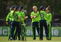 Captain Kim Garth stars in all-round display, but Ireland fall short against West Indies