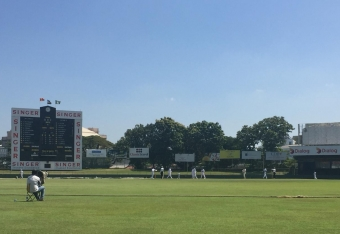 McCollum leads the way with bat, Adair claims three wickets but Sri Lanka A take honours on Day One