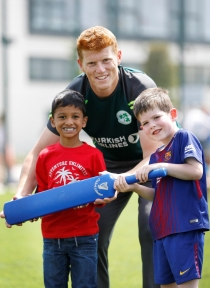 Ireland stars help open Adamstown Community Centre
