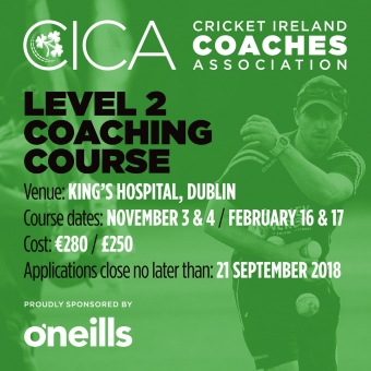 CICA - Level 2 Coaching Course Announced