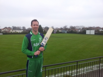 Ireland's Handyman relishes Pakistan challenge