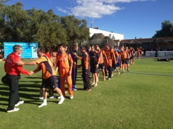 Netherlands one step closer to the ICC Cricket World Cup 2015