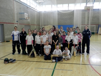 Cricket Leinster's Under 13 and Under 15 Girls Easter Camp