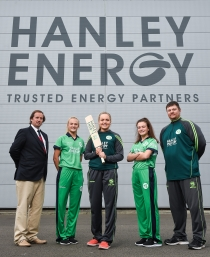 BOOST FOR IRISH WOMEN'S TEAM WITH HANLEY ENERGY SPONSORSHIP DEAL
