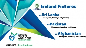 Ireland Under 19 World Cup Fixtures Announced by ICC