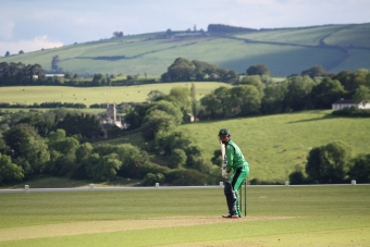 Ireland Wolves battle hard but beaten by Scottish captain Budge's dominant century