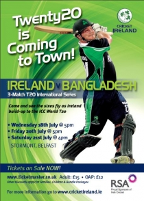 Twenty20 Cricket comes to Town