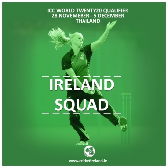 Ireland Squad Named for ICC Women's World Twenty20 Qualifier in Thailand