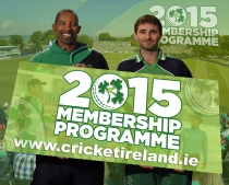 Best Ever Cricket Ireland Membership Packages Launched Ahead of Bumper 2015