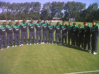 Ireland U15's lose to the Netherlands