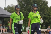 Ireland Women's record-breaking day cut short by rain