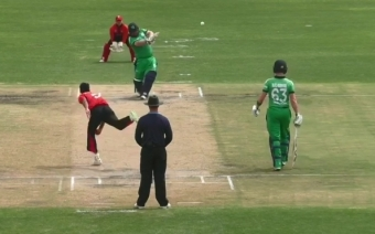 Stirling stars as Ireland defeat Hong Kong in close, rain-affected match