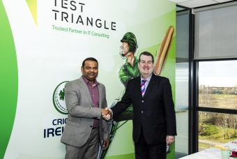 Test Triangle go into bat as new IT Services Partner of Cricket Ireland