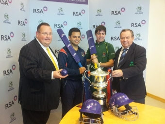 RSA Irish Senior Cup Launch & First Round Draw