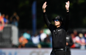 First-ever full-time umpire season contracts, increased women umpires on Panels