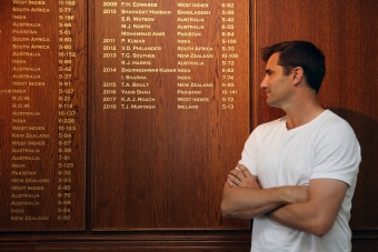 Murtagh makes the Honours Board…officially!
