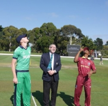 Ireland Beaten By West Indies In Plate Quarter-Final
