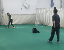 Snow slowing down - girls cricket training camps underway