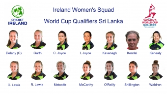 Ireland Women Name World Cup Qualifying Squad