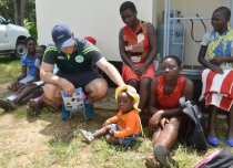 Bowled over in Zimbabwe, Ireland players touched by visit to local health clinic