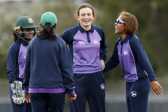 PROGRESS: Lara Maritz at the ICC Women's Global Development Squad