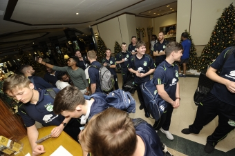 Ireland Wolves arrive in Sri Lanka, Head Coach and Captain give their views of the tour ahead