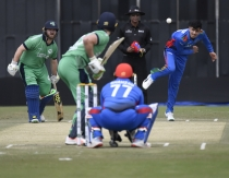 Stirling, Balbirnie lead Ireland to victory after spinners dominate Afghanistan