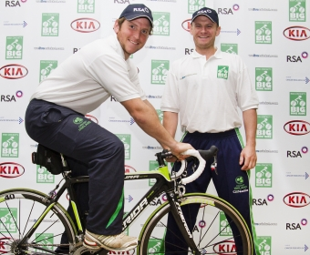 Irish Cricket's Big Bike Ride wins 'Spirit of Cricket' Award