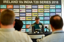 WATCH: Gary Wilson press conference before the T20I series against India