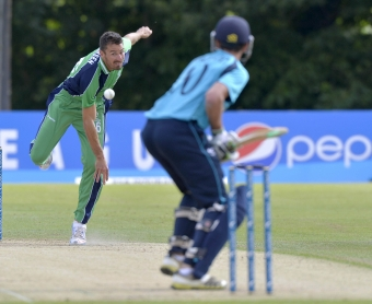 Ireland and Scotland lock horns with one eye on the ICC Cricket World Cup 2015