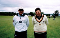 Club Memories: When Mark Waugh visited Mullingar Cricket Club