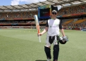 Niall O'Brien walks out at The Gabba ©Cricket Ireland/Barry Chambers