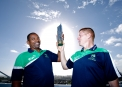 Coach & Vice-Captain with the Qualifying Trophy that got Ireland to the upcoming World T20 © Maxwells Photography