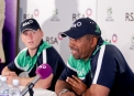 Phil Simmons spoke of his hopes of winning games at the tournament © Maxwells Photography