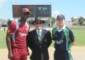 The Captains at the toss © WICB