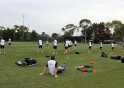 Training at Kippax Oval