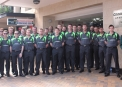 The Ireland squad outside the Coogee Sands Hotel ©Alan Vaughn