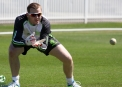 Niall O'Brien at training ©Cricket Ireland/Barry Chambers