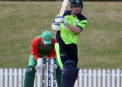Played to leg by Ed Joyce ©Cricket Ireland/Barry Chambers