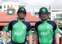 Ireland openers William Porterfield and Paul Stirling ©Barry Chambers/Cricket Ireland