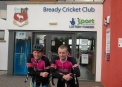 Arriving into Bready Cricket Club