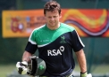 Ed Joyce looked good in the nets © Cricket Ireland/Barry Chambers
