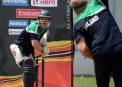 Niall O'Brien in the nets © Cricket Ireland/Barry Chambers