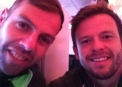 Ed Joyce & Carl Hopkinson get ready to jet off to the Cricket World Cup