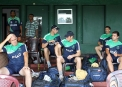 Players get ready for training © Cricket Ireland/Barry Chambers