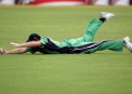 Spectacular catch by Trent at the 2007 World Cup © Inpho