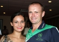 William Porterfield with his girlfriend Natalie © Cricket Ireland/Barry Chambers