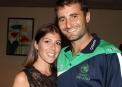 Tim and Karina Murtagh © Cricket Ireland/Barry Chambers