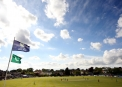 Clontarf looked an absolute picture on a glorious day for cricket ©INPHO/Kieran Murray