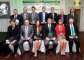 The group of winners at the Cricket Ireland Awards 2014 ©INPHO/Ryan Byrne